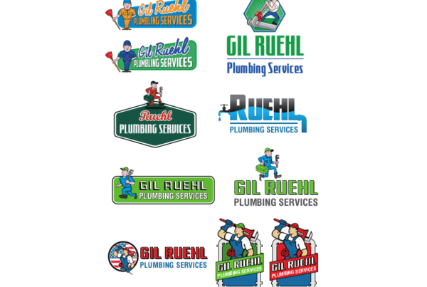 Gil Ruehl logo concepts