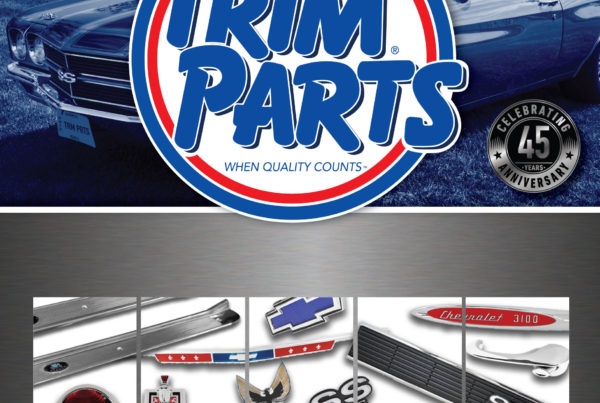 2017 Trim Parts Catalog Cover